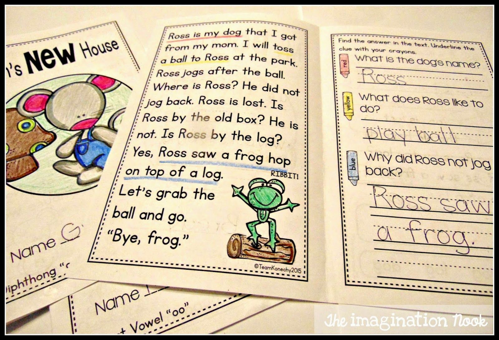 Reading Passages To Build Fluency And Comprehension Skills Focuses On First Grade Phonics