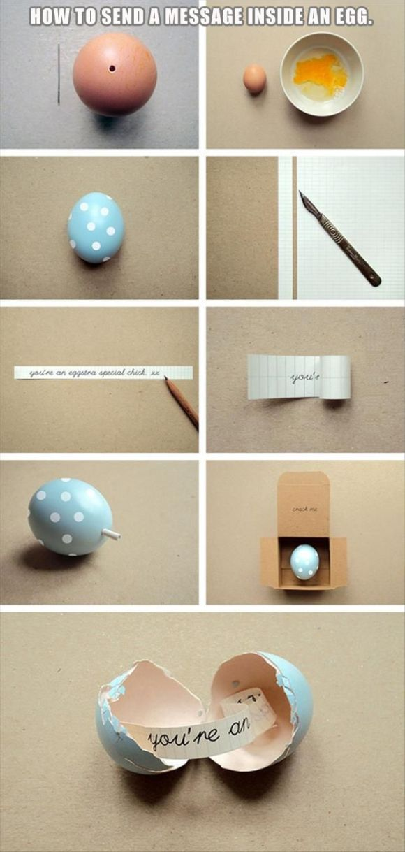 Nice idea for easter bunny!