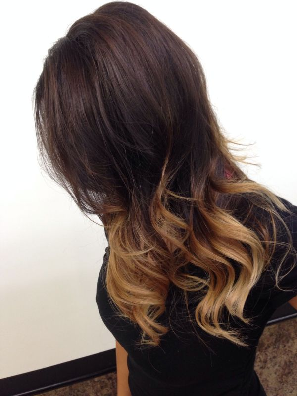 20 Shoulder Length Dark Brown Ombre Hair Pictures And Ideas On Meta