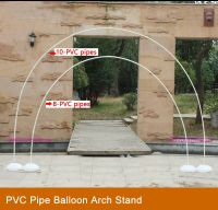 Make a Balloon Arch Stand with PVC Pipe/Cords | PVC Pipe ...