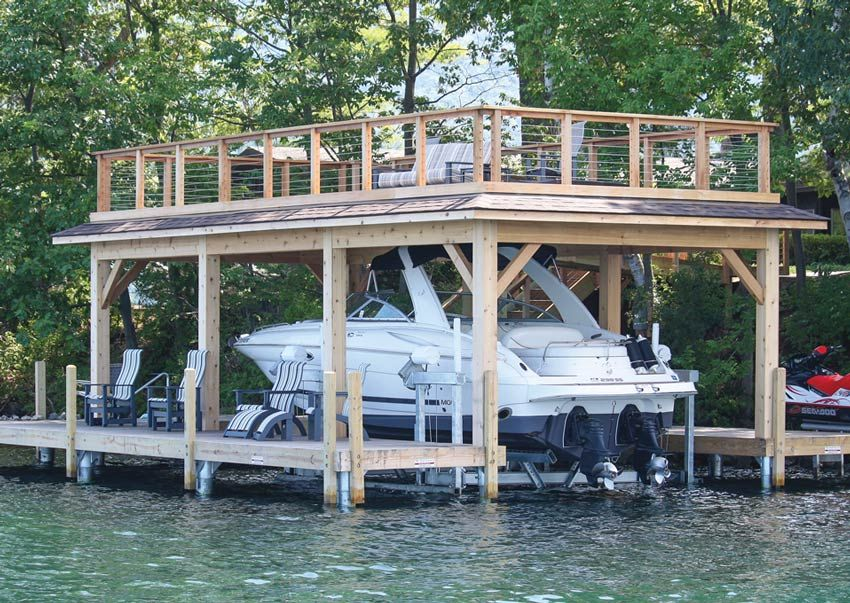 Boathouses By The Dock Doctors Cabin Ideas Pinterest