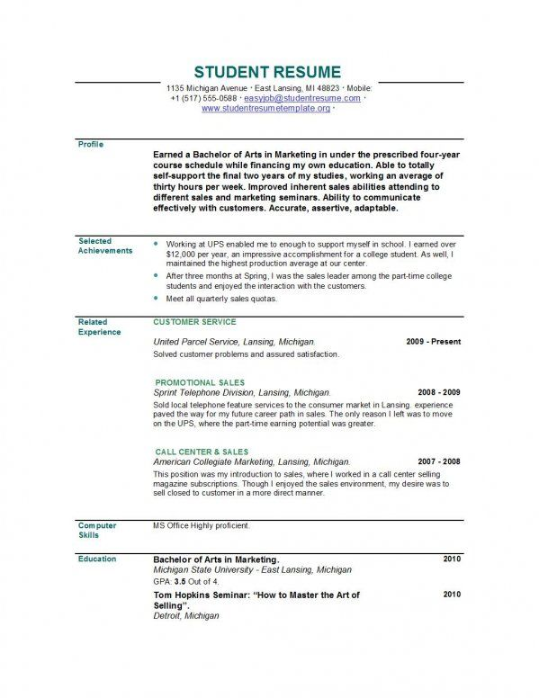 Resume Examples Recent Graduate Google Search Office Space