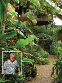 The Exotic Garden Norwich, with its owner, the writer of ...