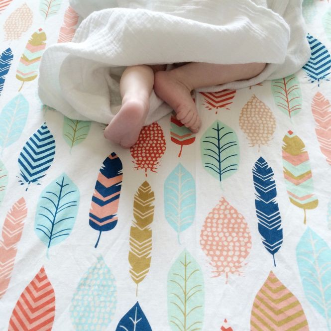 Feather Baby Bedding Plume Ed Crib Sheets Boho Changing Pad Covers Or Standard And Mini Etsy Nursery