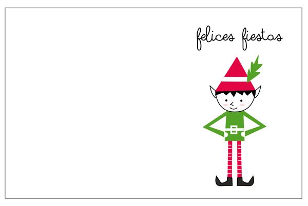 Tarjetas de Navidad para imprimir. Free printable