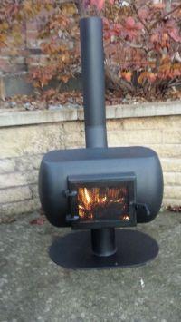 Gas bottle wood burner chimenea | Stove, Wood burner and ...