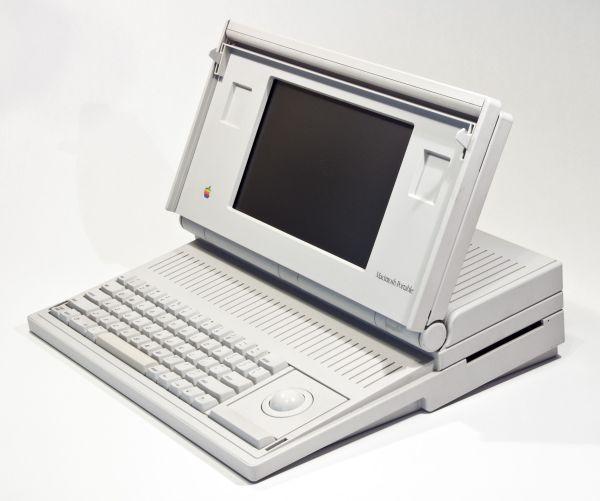 1987 Macintosh Portable Computer Produced