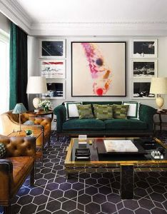 Green sofa chairs pillows forthehome homesweethome design ideas heincker photos also best images about living room on pinterest window treatments rh