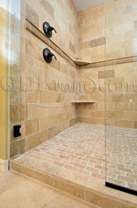Tumbled Stone Tile bathroom | The Largest Direct ...