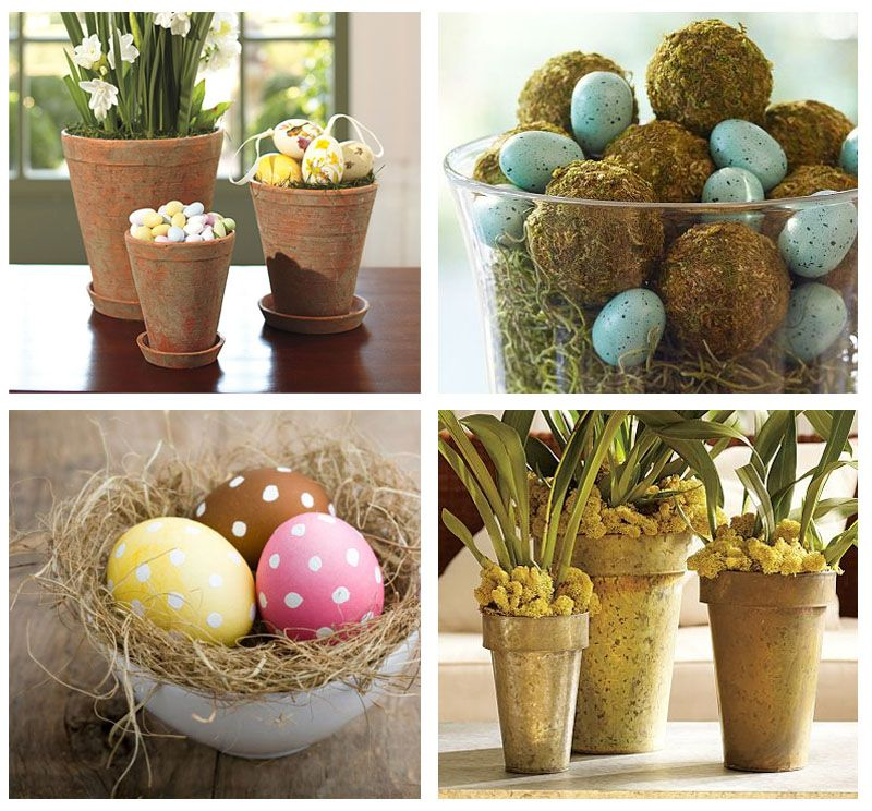 Cute easter decorations for around the house  Easter  Pinterest  Spring Eggs and Robins