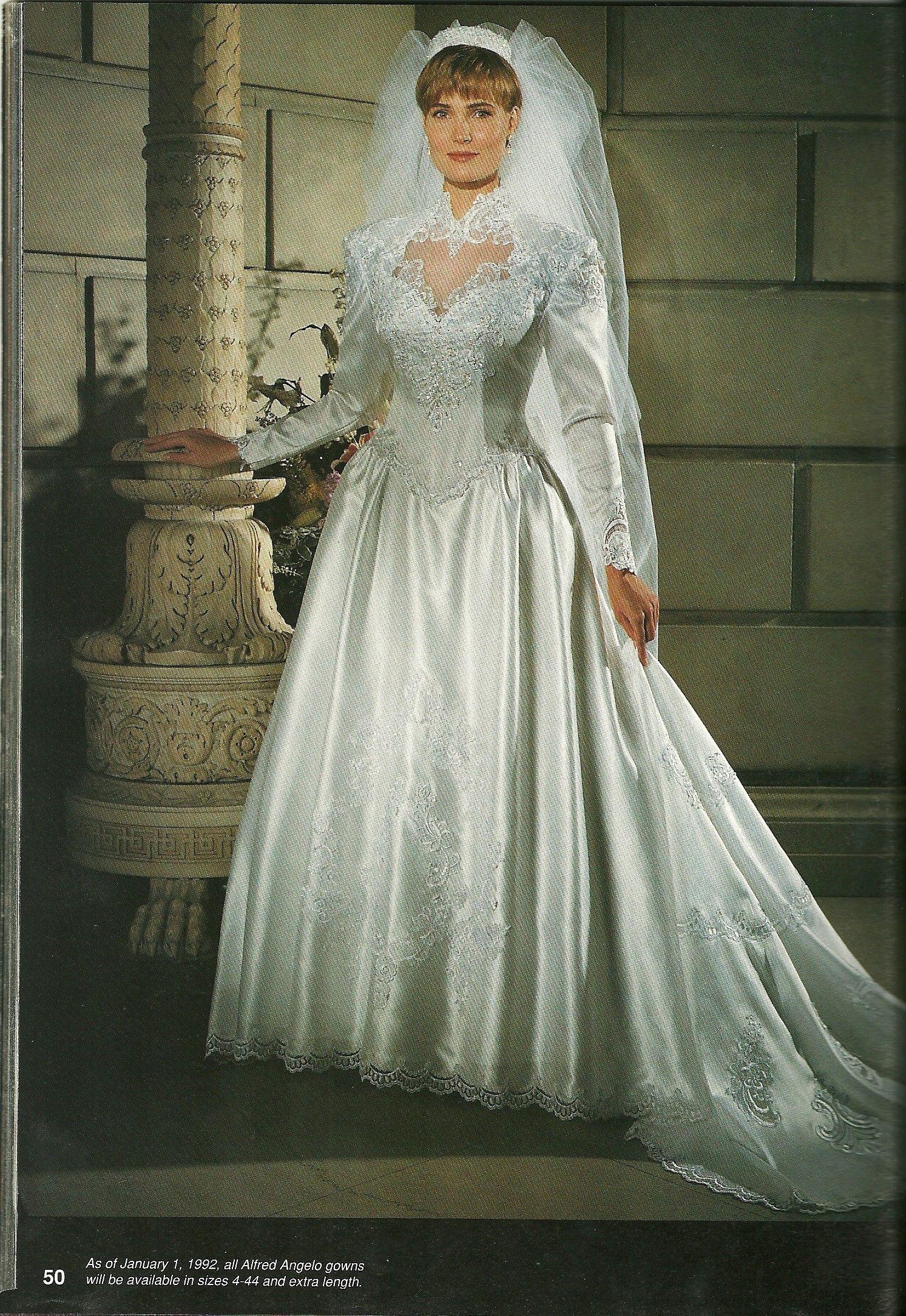 Vintage Wedding Dresses From 1990