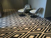 Ege carpets. Moquette lobby Hotel Mercure de Metz ...