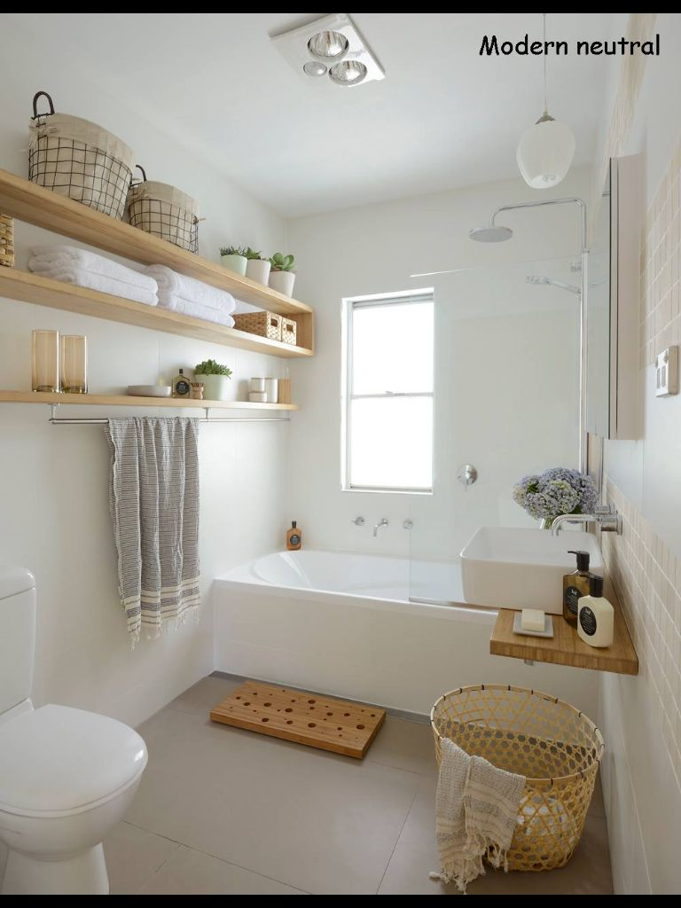 Modern Neutral Bathroom From Better Homes And Gardens Australia
