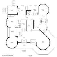victorian house layout floor plan