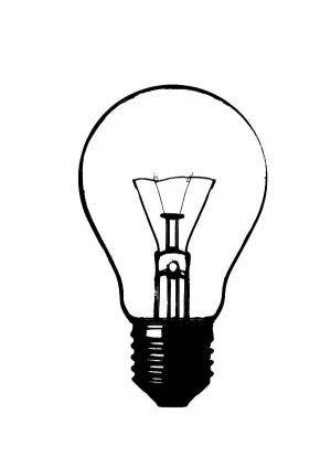 bulb drawing draw coloring pages lightbulb drawings bulbs sketch lighting printable clipart clipartbest designs clip template discover