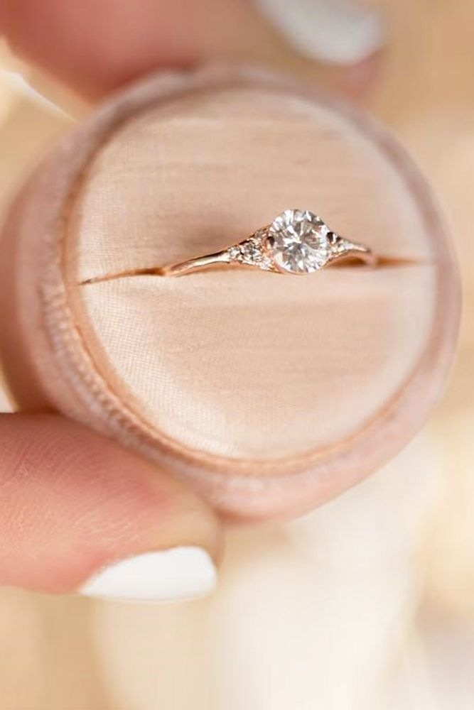 21 Three Stone Engagement Rings You Will Want  Three