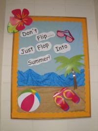 T. Murphy Summer Time Theme | Bulletin Board Ideas ...
