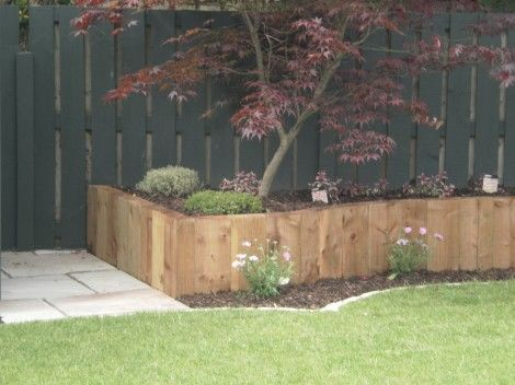 Raised Bed Gardening With Pressure Treated Pine Sleepers Raised