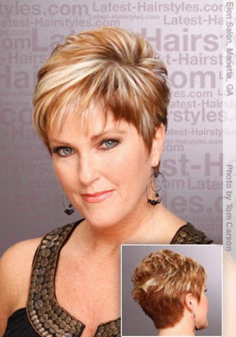 Short Chunky Hairstyle Pictures Short Hairstyles For Round Faces