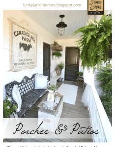 Porch ideas also gardens  exteriors pinterest funky junk interiors rh