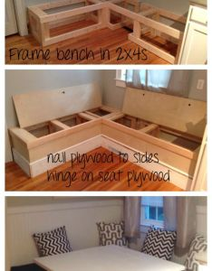 Ana white diy breakfast nook with storage projects also top ideas about koltuk on pinterest crafts ux ui designer and rh