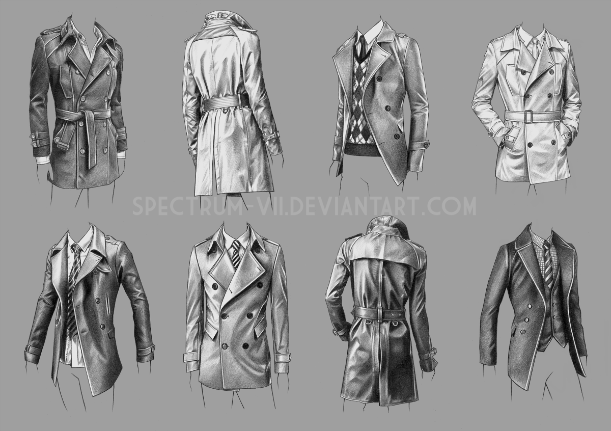 A study in coats by Spectrum-VII.deviantart.com on