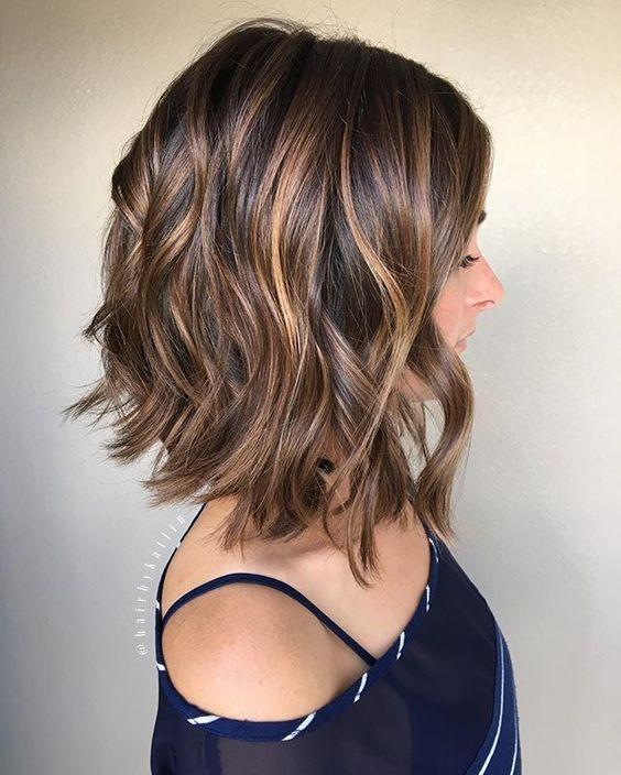Frisuren 2017 Haare Frisuren Pinterest Lob Haarschnitt Und