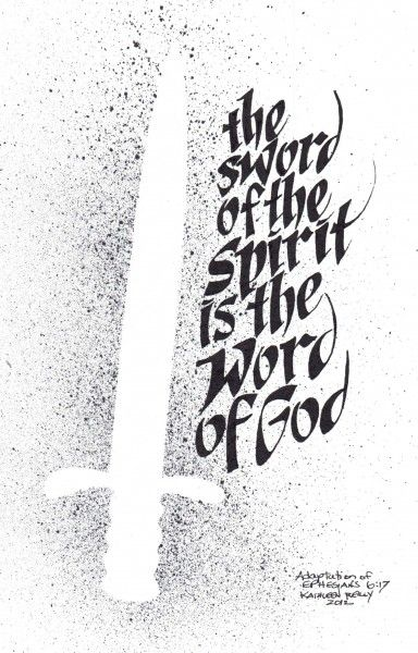 Knowing JesusGrasp the sword of the Spirit, which is the