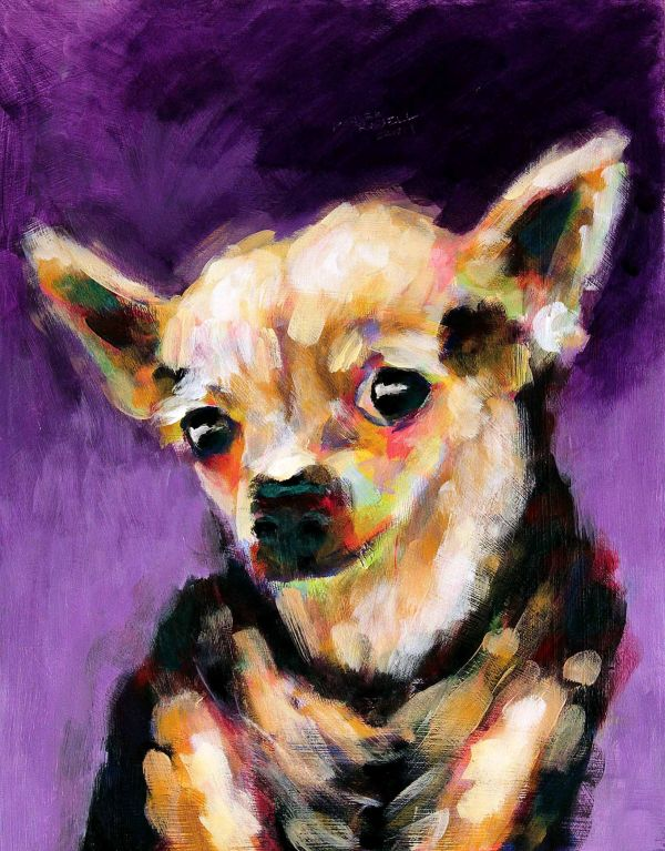 Dog Paintings Famous Artists Private Collection