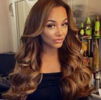 Golden Brown Hair Color For Black Women | Brown Hair ...