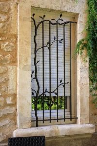 burglar bars for windows security bars artistic design ...
