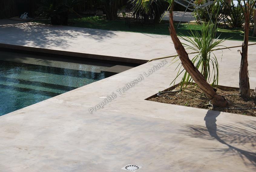 Photos De Sol Beton Cire En Exterieur Deco Jardin Pinterest Sol Beton Beton Cire Et Beton