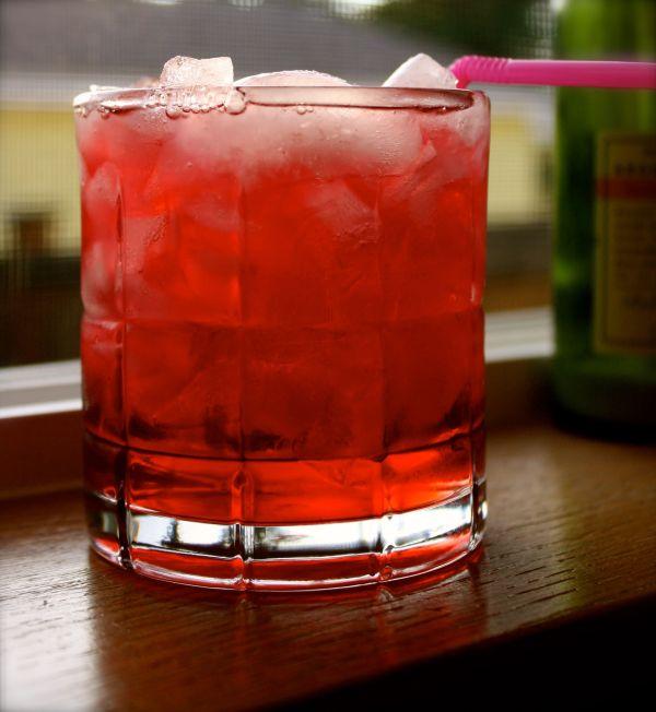 Killer Kool Aid - Vodka Amaretto Peach Schnapps And