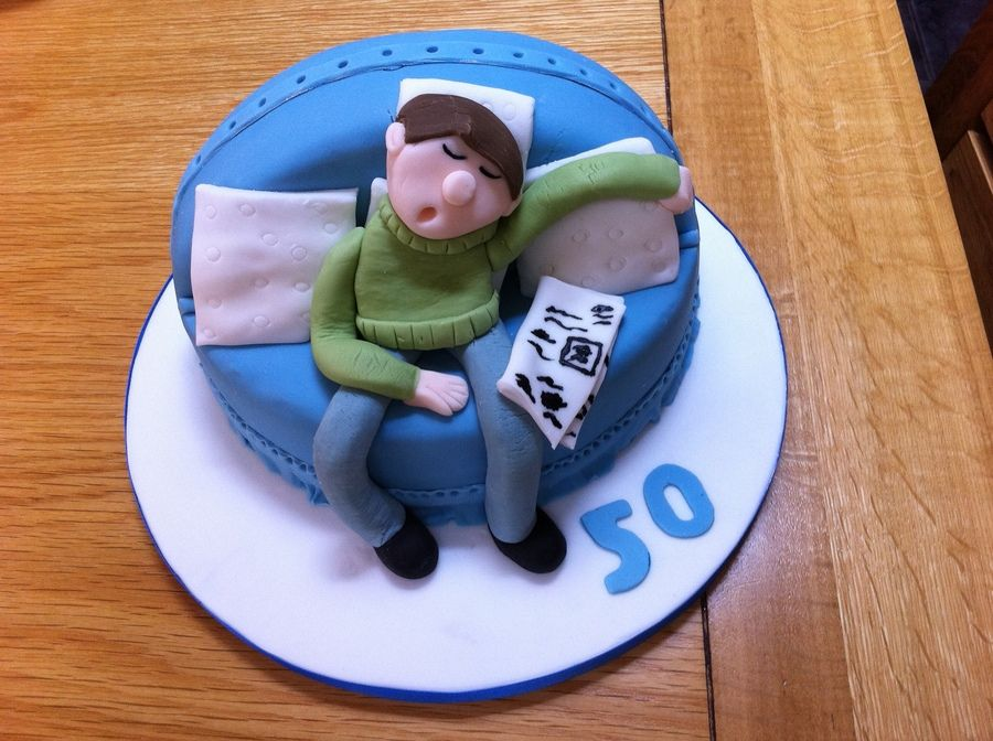 50th birthday cakes for men 50th birthday cakesleeping