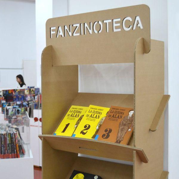 Cardboard Display Shelf Magazine Rack Brochure Holders