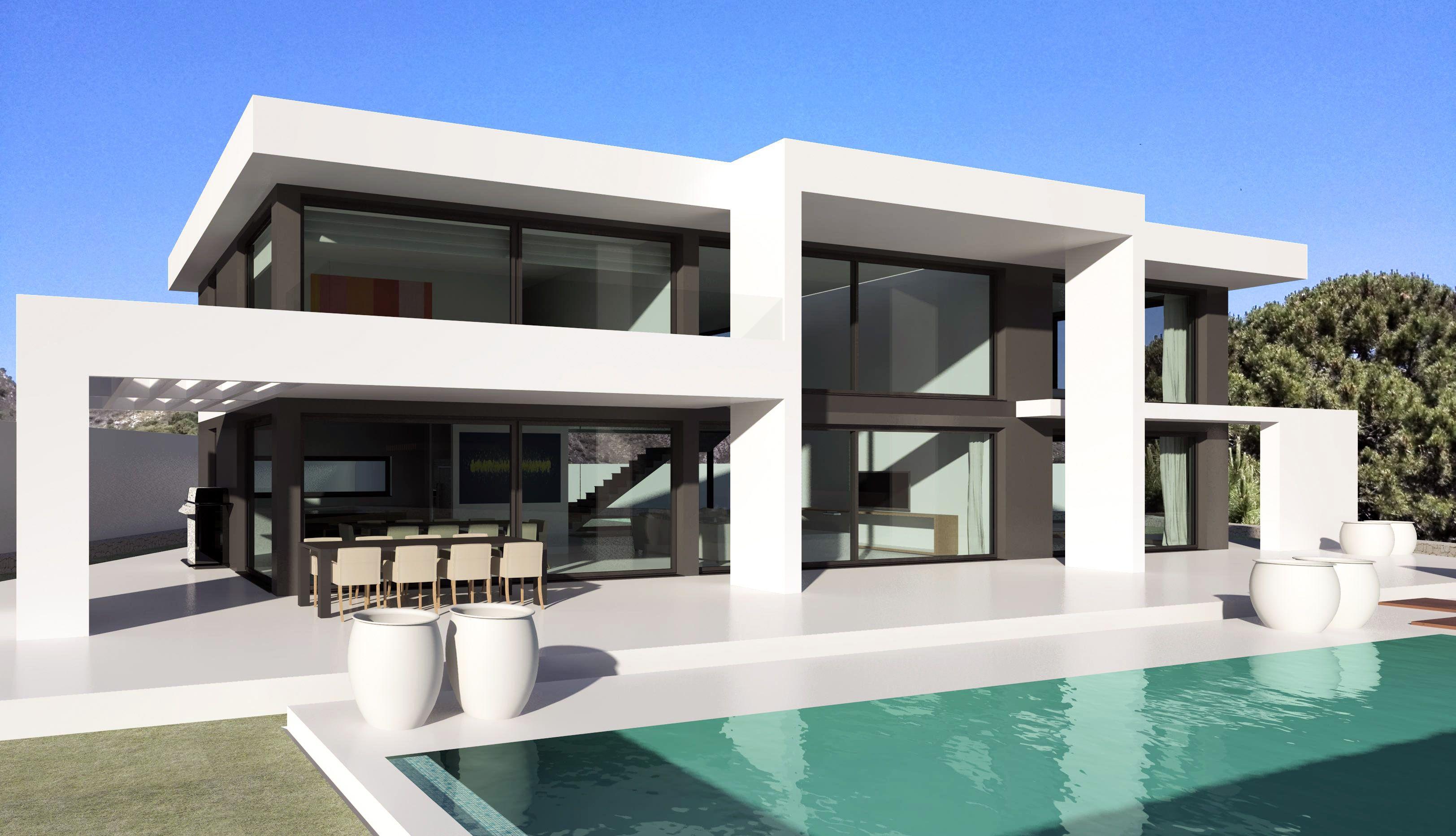 Modern Turnkey Villas in Spain France Portugal  Turnkey Villas  Pinterest  France