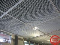 Metal Stretched Drop Ceiling Tiles/grid Panel - Buy Metal ...