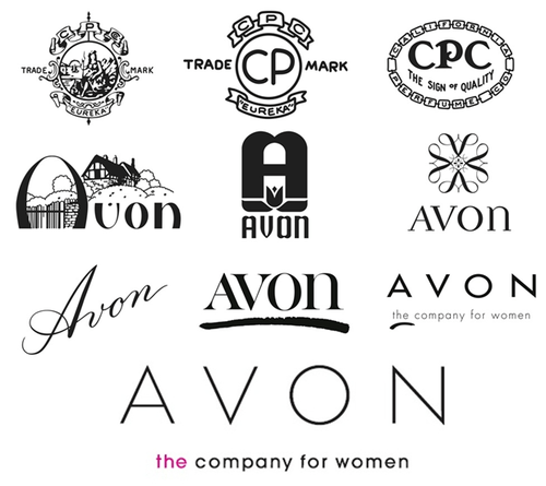 A look back at some of Avon's most iconic logos. Starting