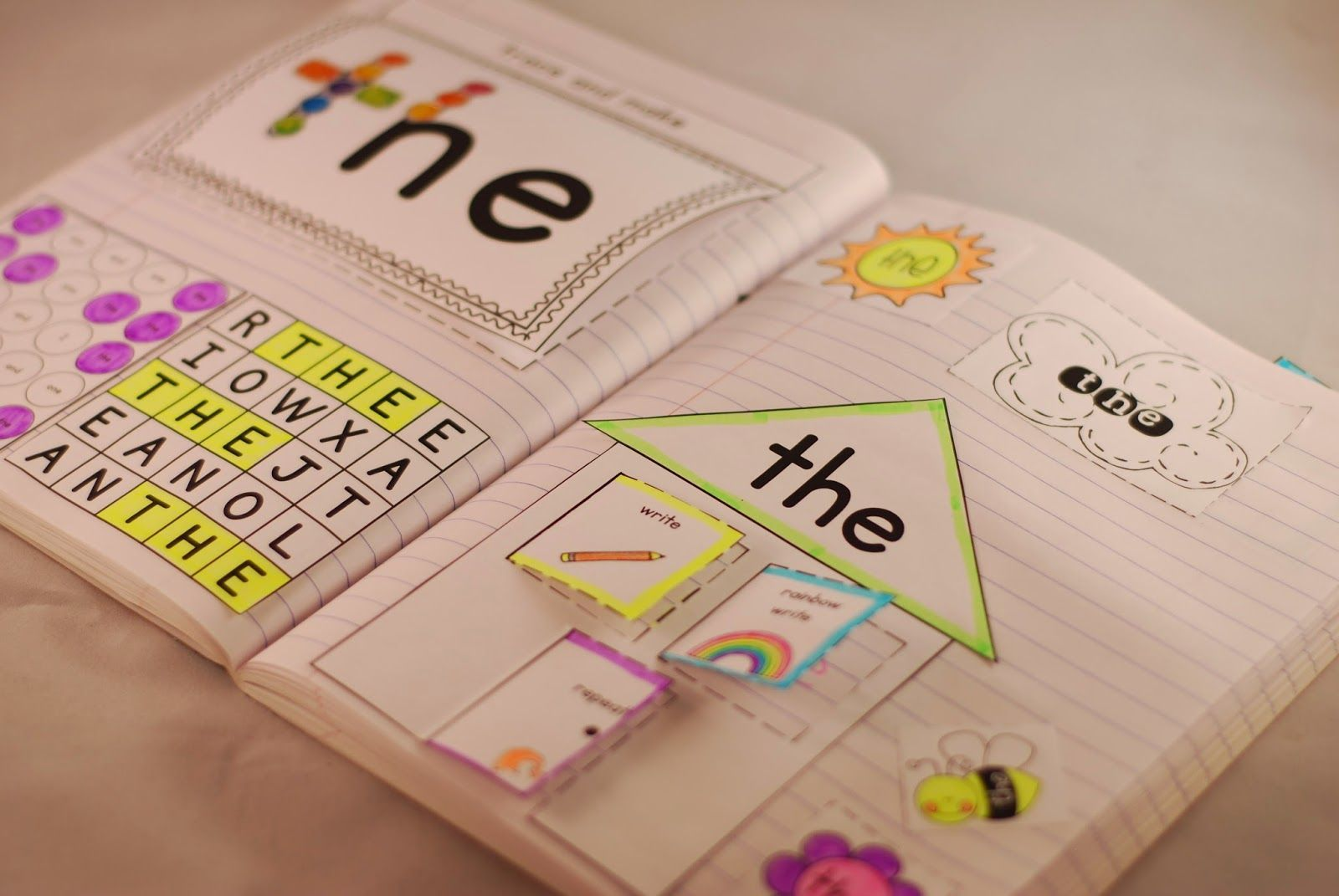 Sight Word Interactive Notebooks Lots Of Activities To