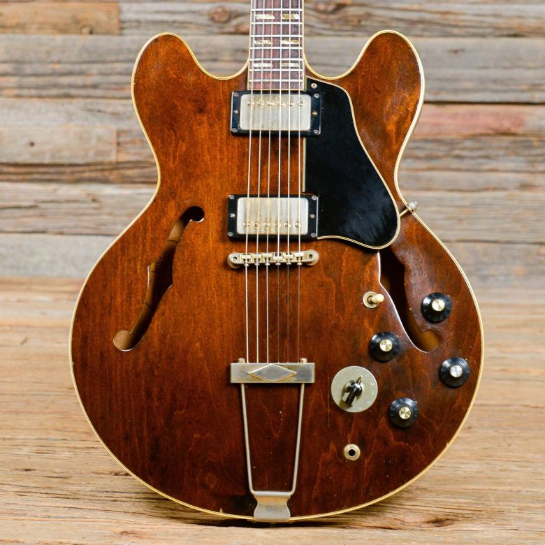 gibson es-345 walnut 1968 (s800) from chicago music exchange | more