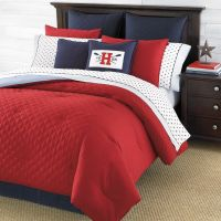 red bedding | Tommy Hilfiger Hilfiger Prep Red Bedding ...