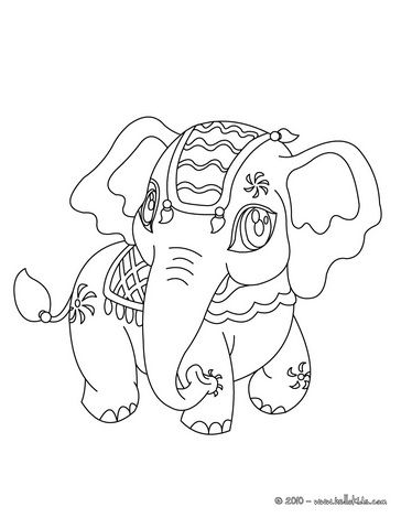 Butterfly Coloring Sheets: Online Coloring Elephant Color