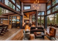 Modern rustic mountain home - Modern Mountain Homes to ...