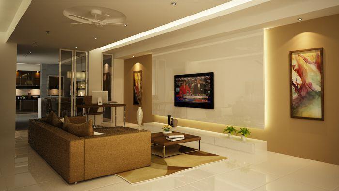 Malaysia Interior Design Terrace House Interior Design Living