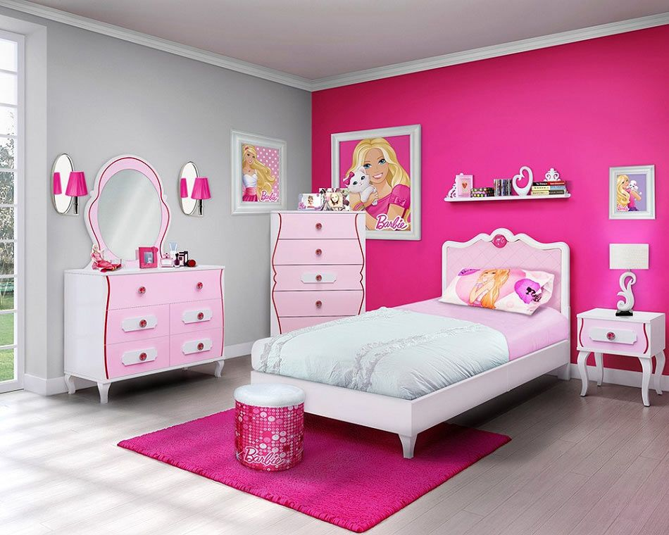 Picture Perfect: Girls Barbie Bedroom