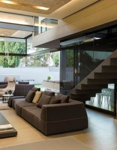 Located within the leafy suburb of athol johannesburg stands latest contemporary stunner from nico van der meulen architects designed by highly also house sar picture gallery rooms spaces places  love pinterest rh