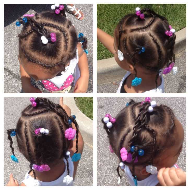 Easy Hairstyles: Hairstyles For Mixed Girls Ideas. Widescreen For Mixed Ideas Smartphone Full Hd Pics Cute Hairstyle Toddler Girl