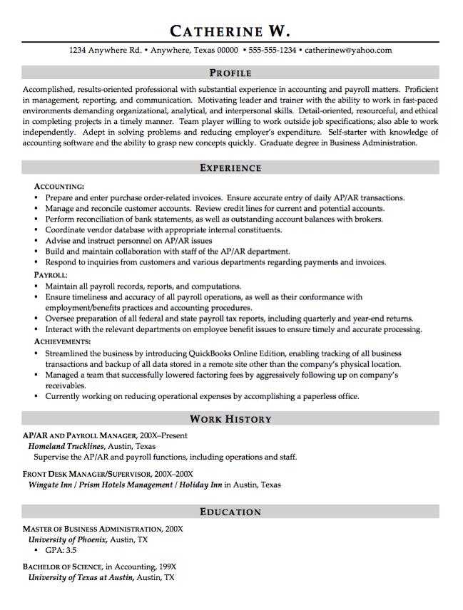 Front Desk Manager Resume Example  httpresumesdesign
