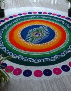 Art of rangoli design and diwali decoration pinterest best designs ideas also rh