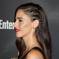 Side braids which make your head look like it's shaved ...